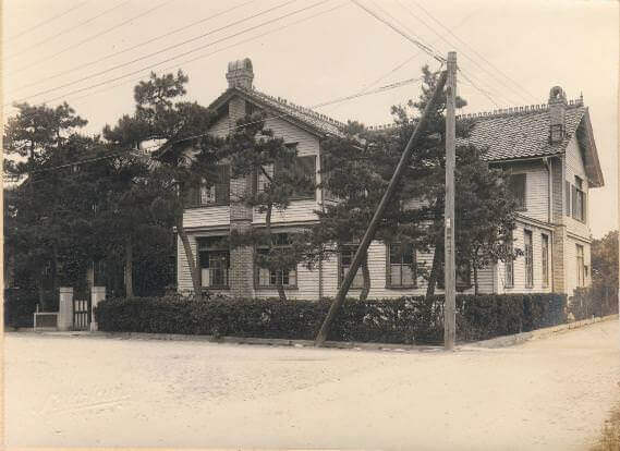 創立当初の園舎